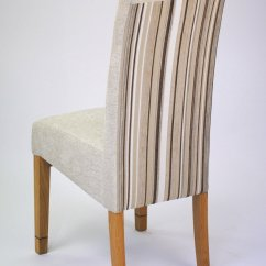 Cream Upholstered Dining Chairs Outdoor Chair And Ottoman Cushions Tanner Furniture Designs