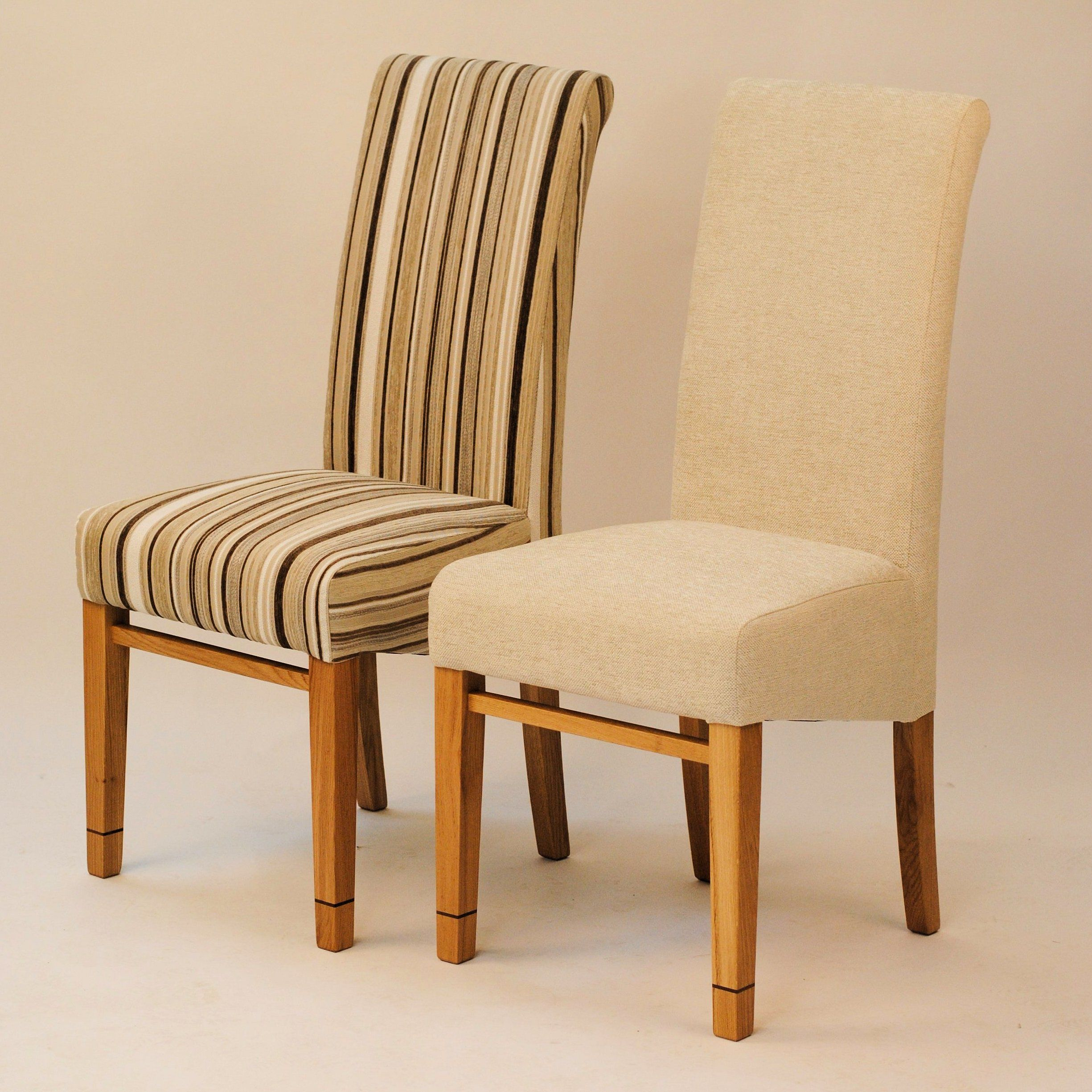 cream upholstered dining chairs pink crushed velvet bedroom chair tanner furniture designs