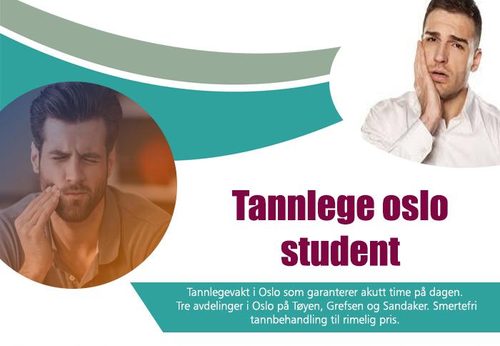 Tannlege oslo student