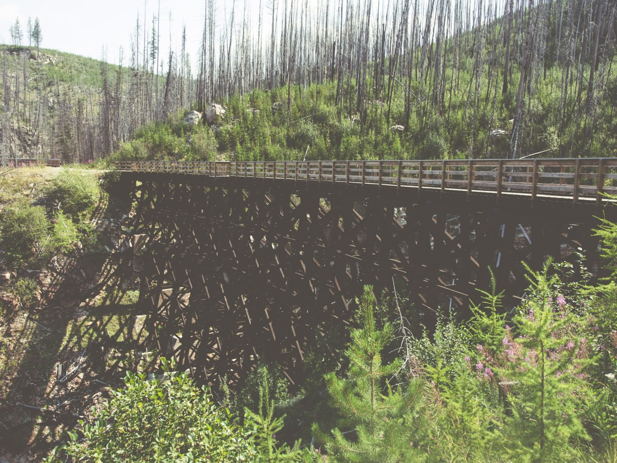 Cycling the Kettle Valley Rail Trail