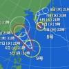 台風8号と9号2019の進路や熊本への被害は?花火大会への影響は?
