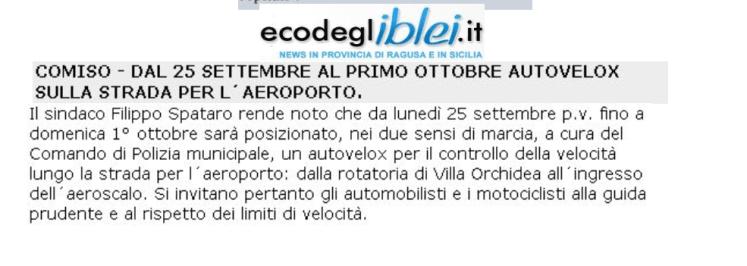 Eco Iblei 250917