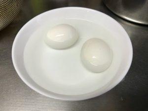 電気圧力鍋 ゆで卵 作り方 卵 冷やす