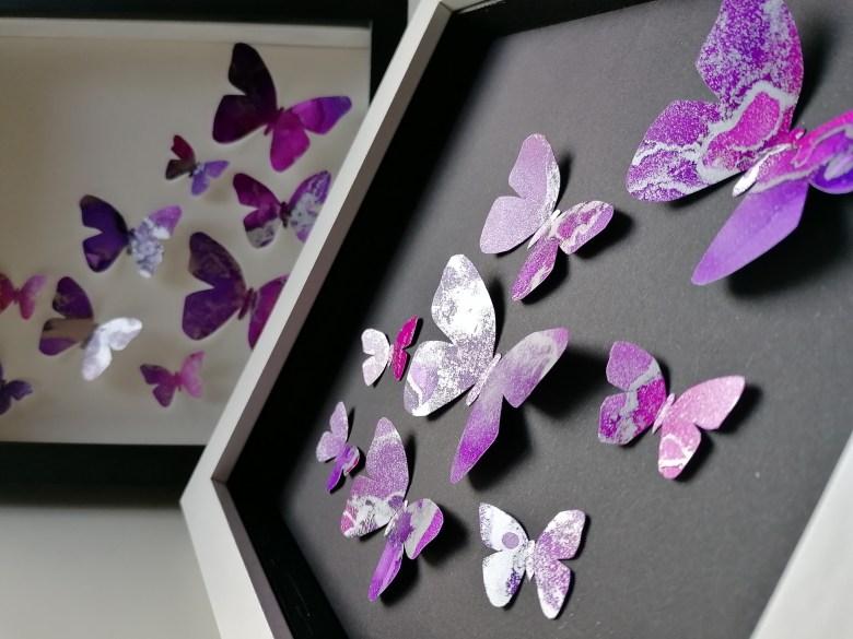 Schmetterlinge Alkoholtinte