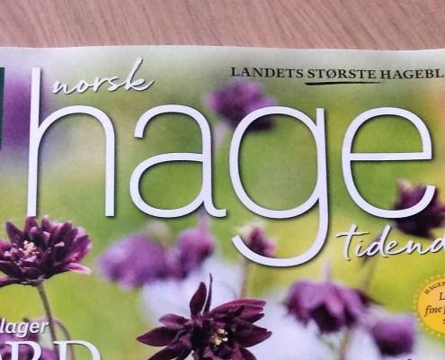 Forside Norsk hagetidend nr.3-18