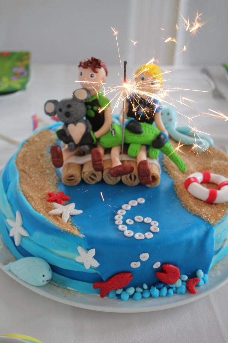 Go Wild Mission Geburtstag Geburtstagskuchen  Tante