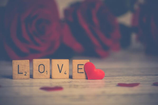 Valentijnsdag is de dag van de liefde