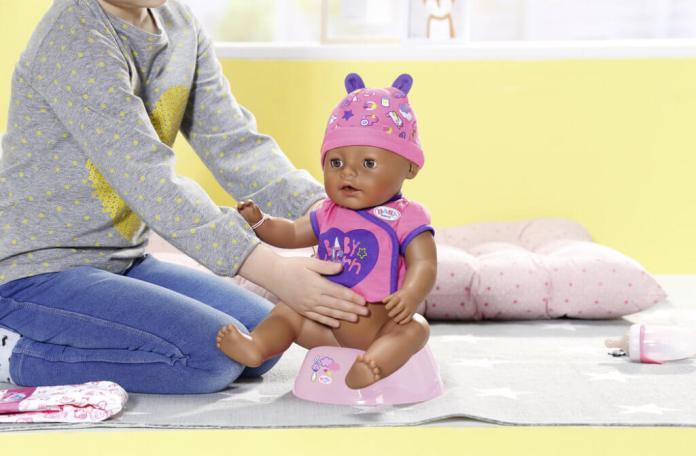Baby Born Soft Touch op het potje