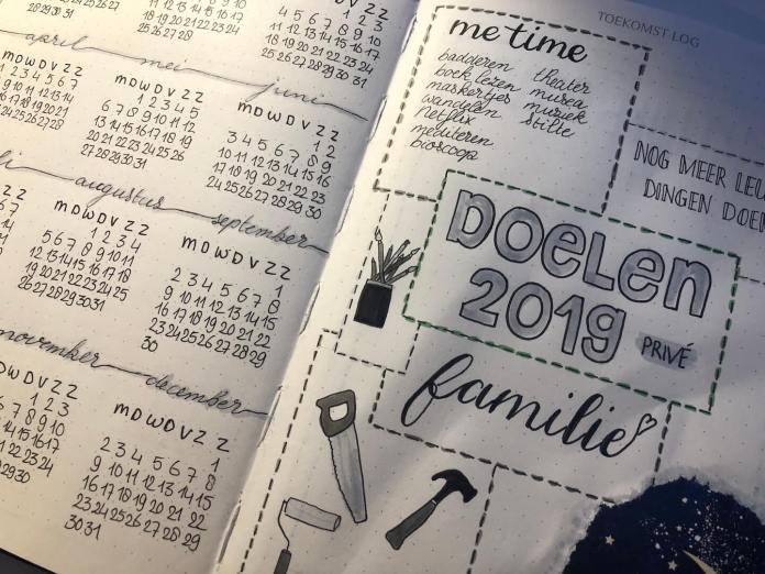 De laatste kerstvoorbereidingen kerstoutfitjes bullet journal