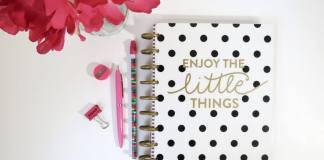 Door een weekplanning hou je tijd over voor jezelf
