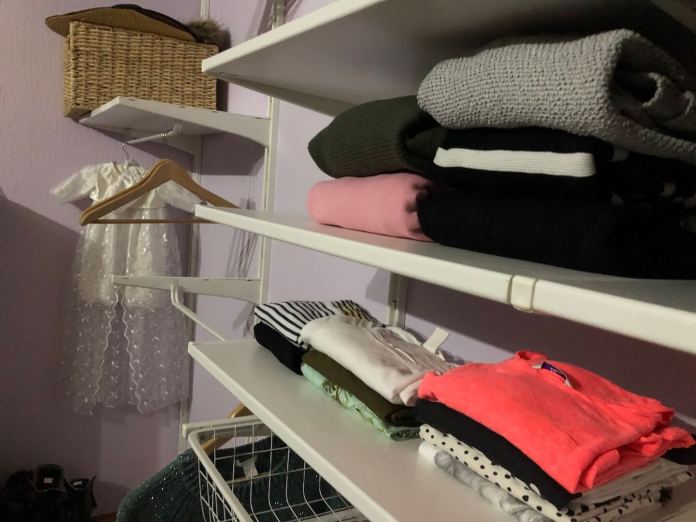 Een nieuw jaar en nog even genieten van de vakantie kledingkast opruimen en inruimen
