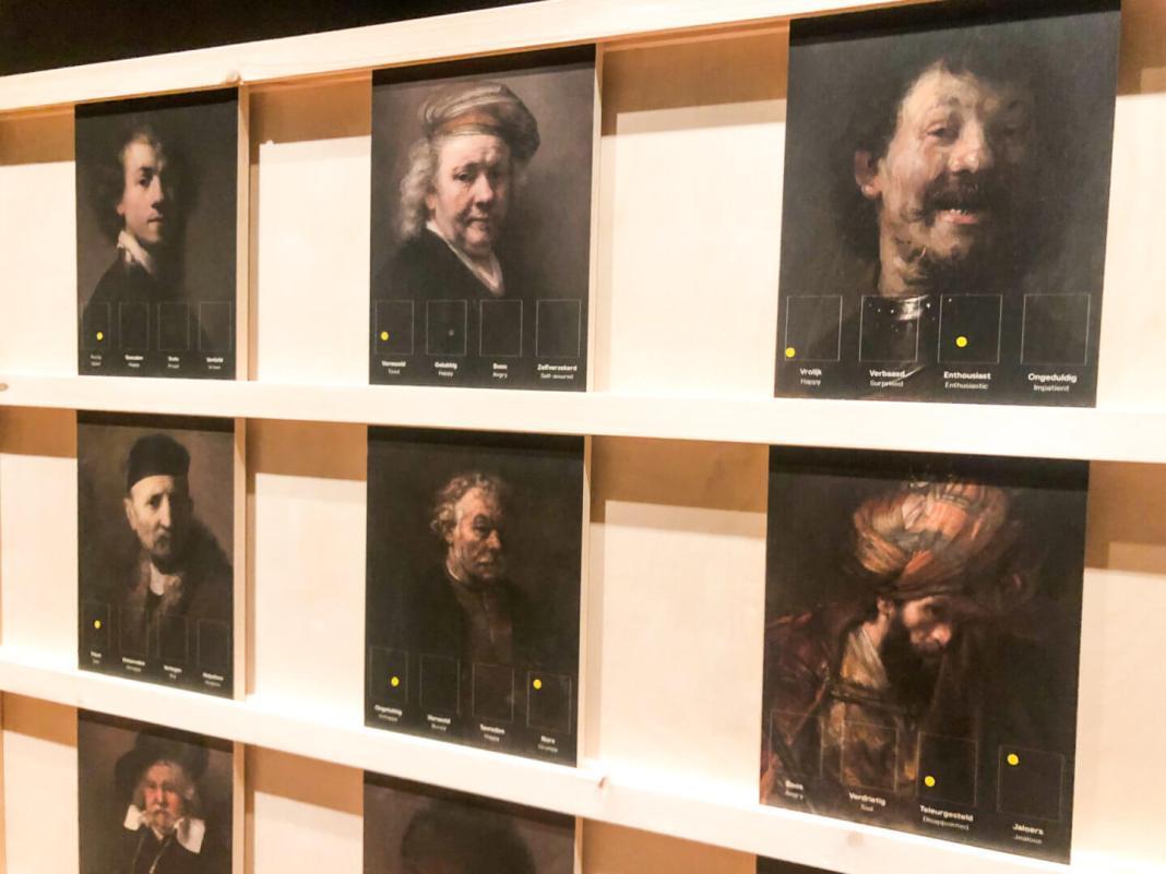 Hallo Rembrandt herken de emotie