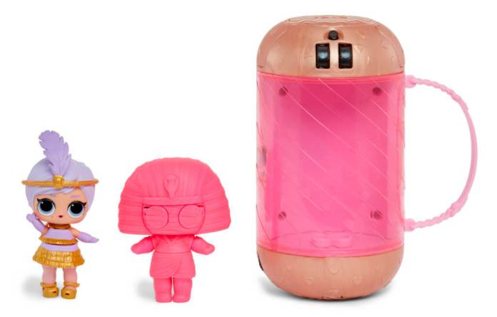 LOL Surprise Eye Spy Underwraps capsule en poppetje