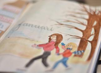 Mijn bullet journal in januari