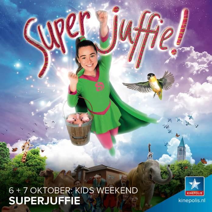 Superjuffie Kids Weekend bij Kinepolis winactie