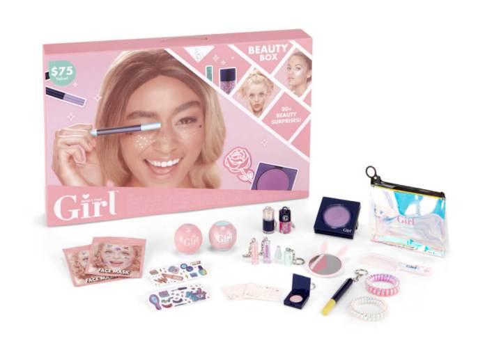 Who's That Girl beautybox inhoud