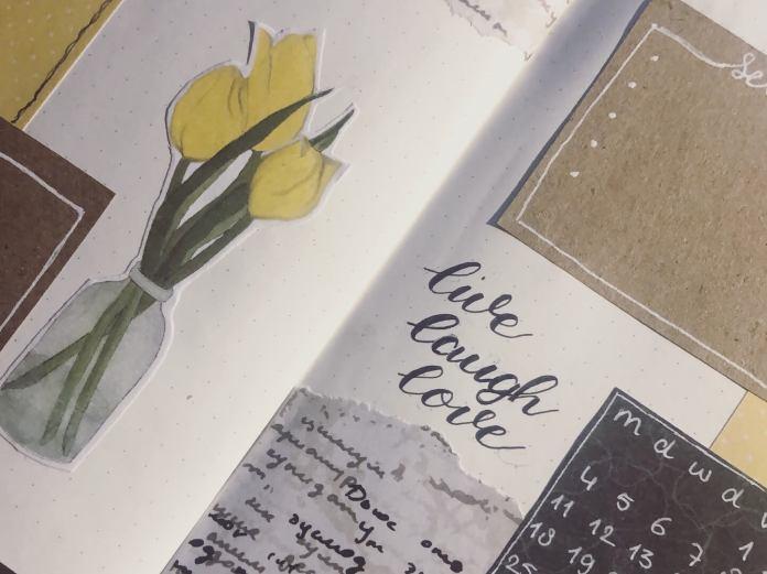 bullet journal maart