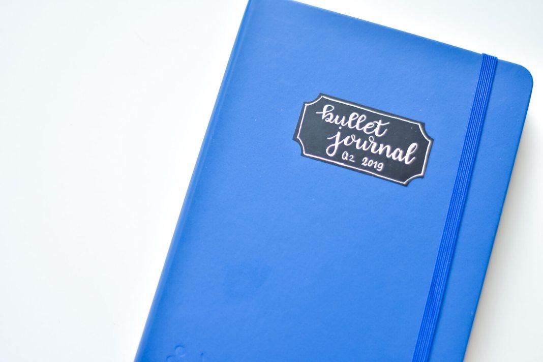 bullet journal voor het tweede kwartaal van 2019 een nieuw notitieboek