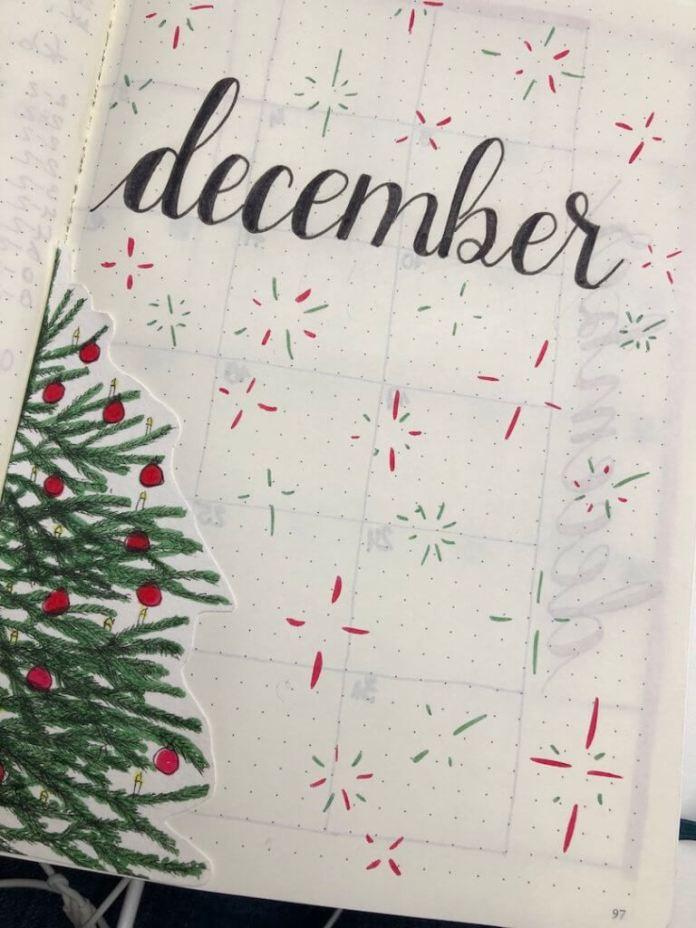 heel veel Sinterklaas en alvast de omslag van mijn bullet journal gemaakt