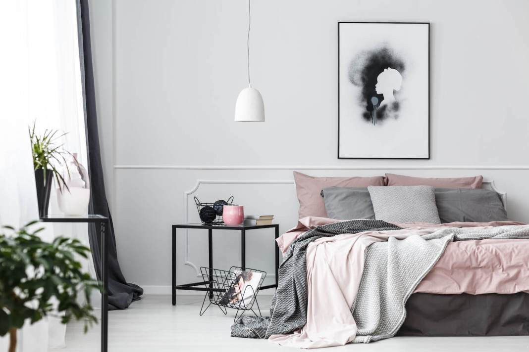 op Pinterest op zoek naar slaapkamerideeën