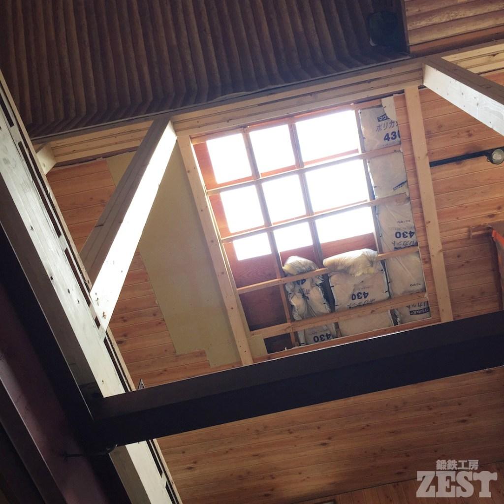 工房の天窓