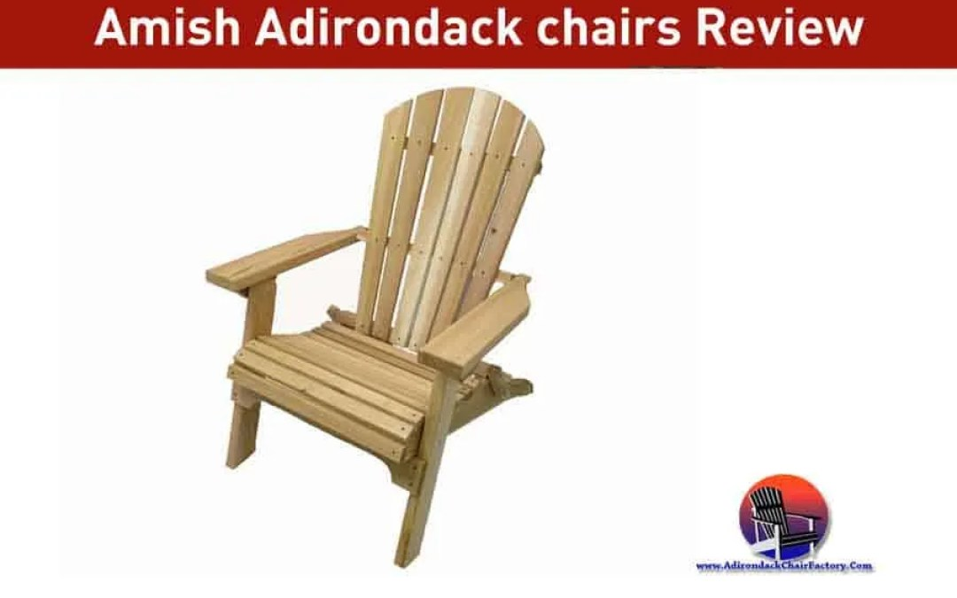 Amish Adirondack chairs Review & Features (2019)