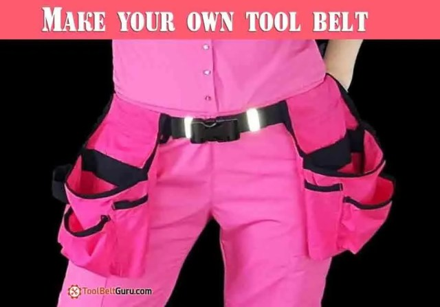 DIY : 6 Easy Steps to Make Your Own Tool Belt from Old Dress