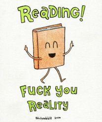 reading fuck u reality
