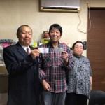 タレントのダンカン(飯塚実)さんが「月刊誌マスターズ」の取材でお店に来られました!