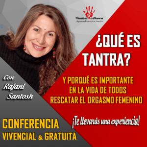 CONFERENCIA VIVENCIAL GRATUITA