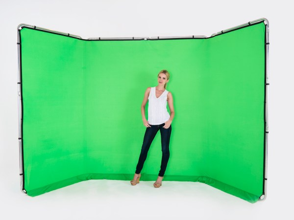 Lastolite Panoramic Frame and Cover green screen on offer at Tantrwm