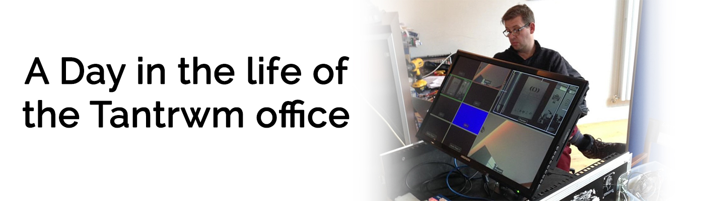 Tantrwm Day in The Life oF The Office Slider