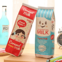 Estojo de caixa de leite !!!