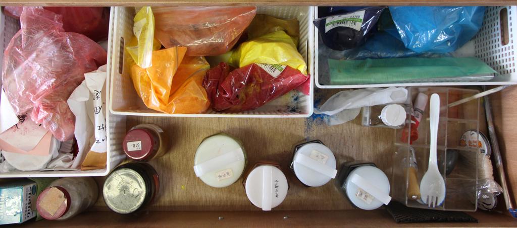 pigment drawer