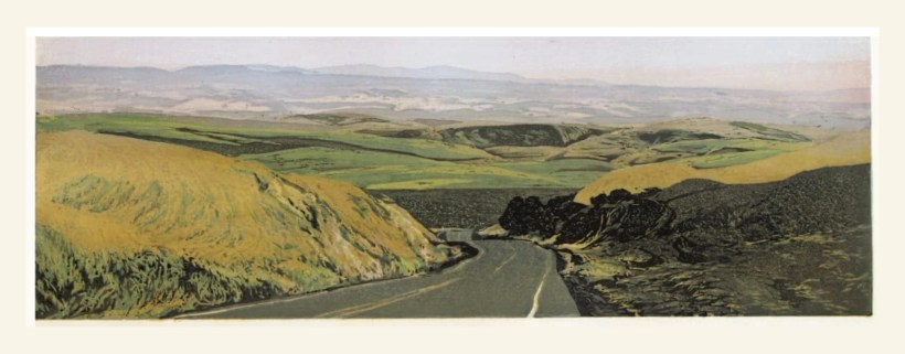 road throught the palouse