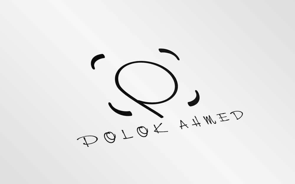 Polok Logo Mockup