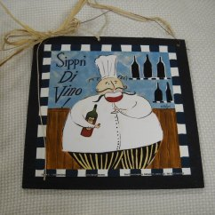 Italian Themed Kitchen Curtains Montessori Tools Get Real Look In Your With Fat Chef