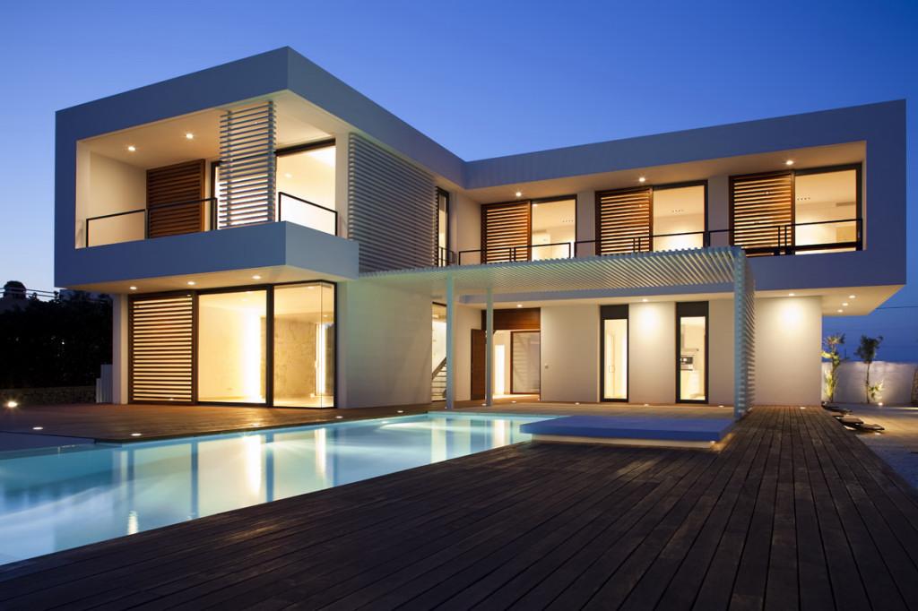 Amazing Modern Architecture Of The Beautiful House Design  Custom Home Design