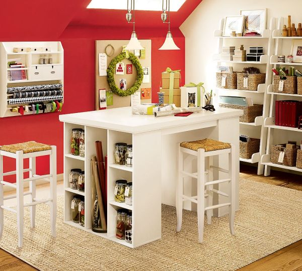 Office Craft Room Decorating Ideas