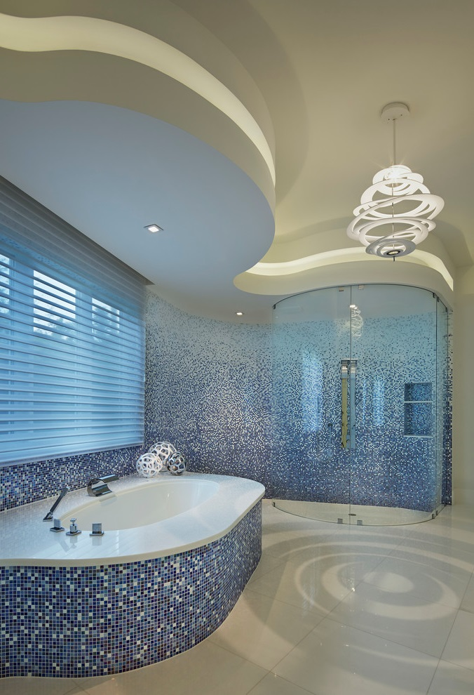 Feel The Real Relaxation With Ocean Bathroom Decor  Custom Home Design