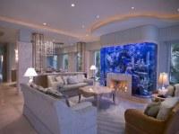 Anti-Stress: Aquariums In Living Room | Custom Home Design