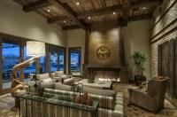 93+ Rustic Western Living Room Ideas - Western Home ...