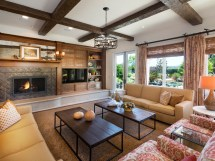 Western Style Living Room Designs