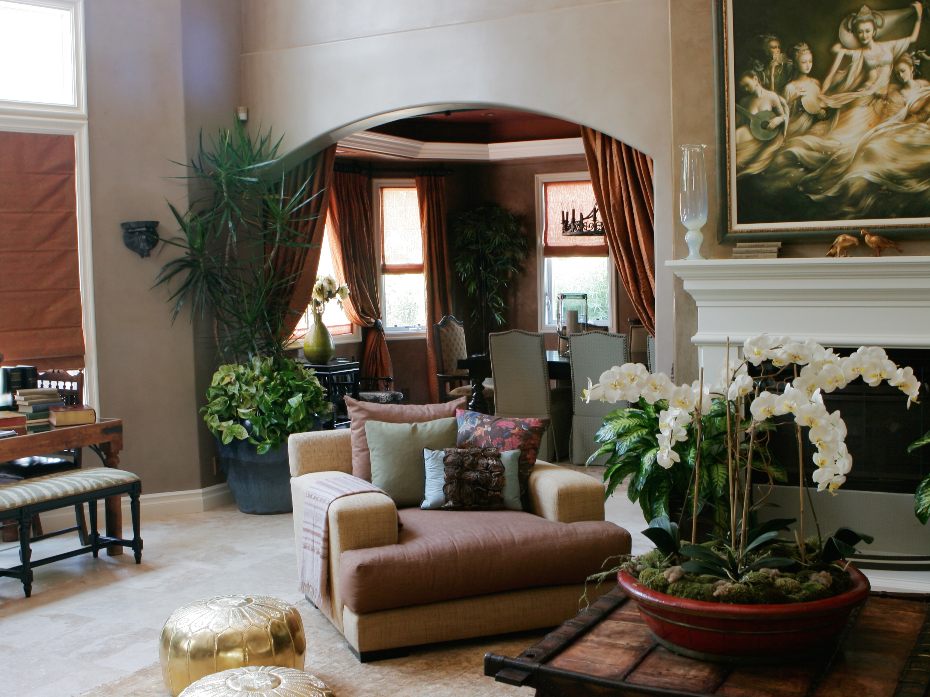 Moroccan Living Room For An Exotic Interior Style  Custom
