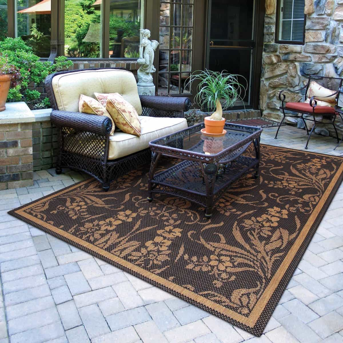15 Beauty Outdoor Rugs Youll Love