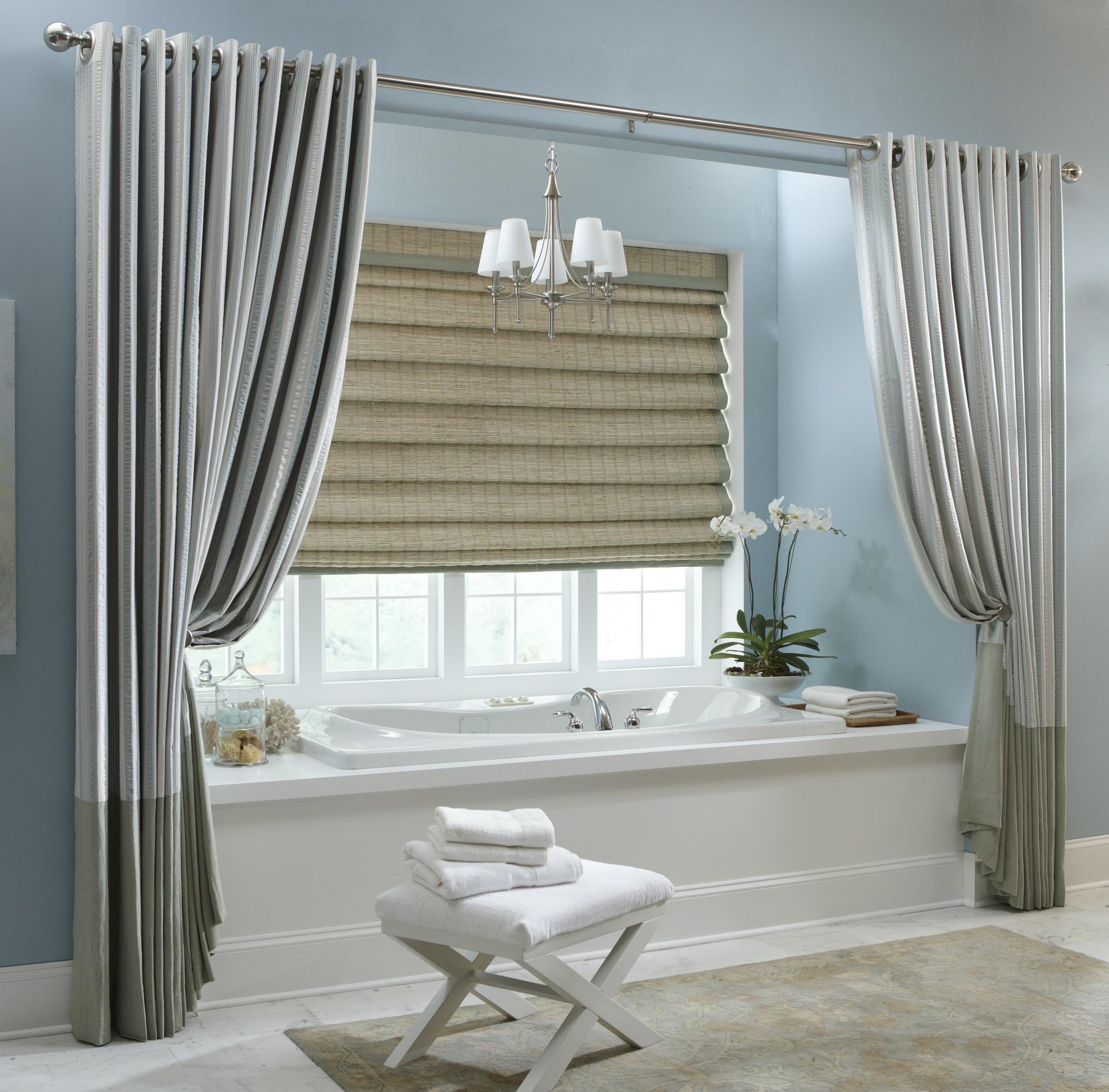 15 Beauty Bathroom Shower Curtain Ideas  Custom Home Design
