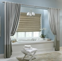 15 Beauty Bathroom Shower Curtain Ideas | Custom Home Design