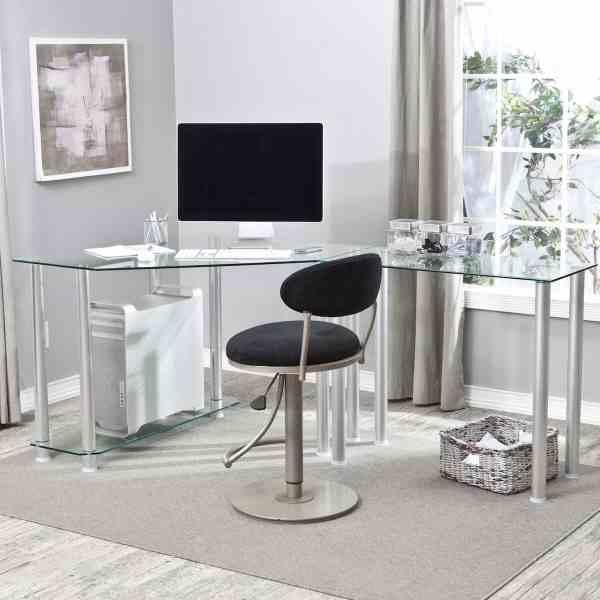 Advantages Of A Glass Computer Desk | Custom Home Design
