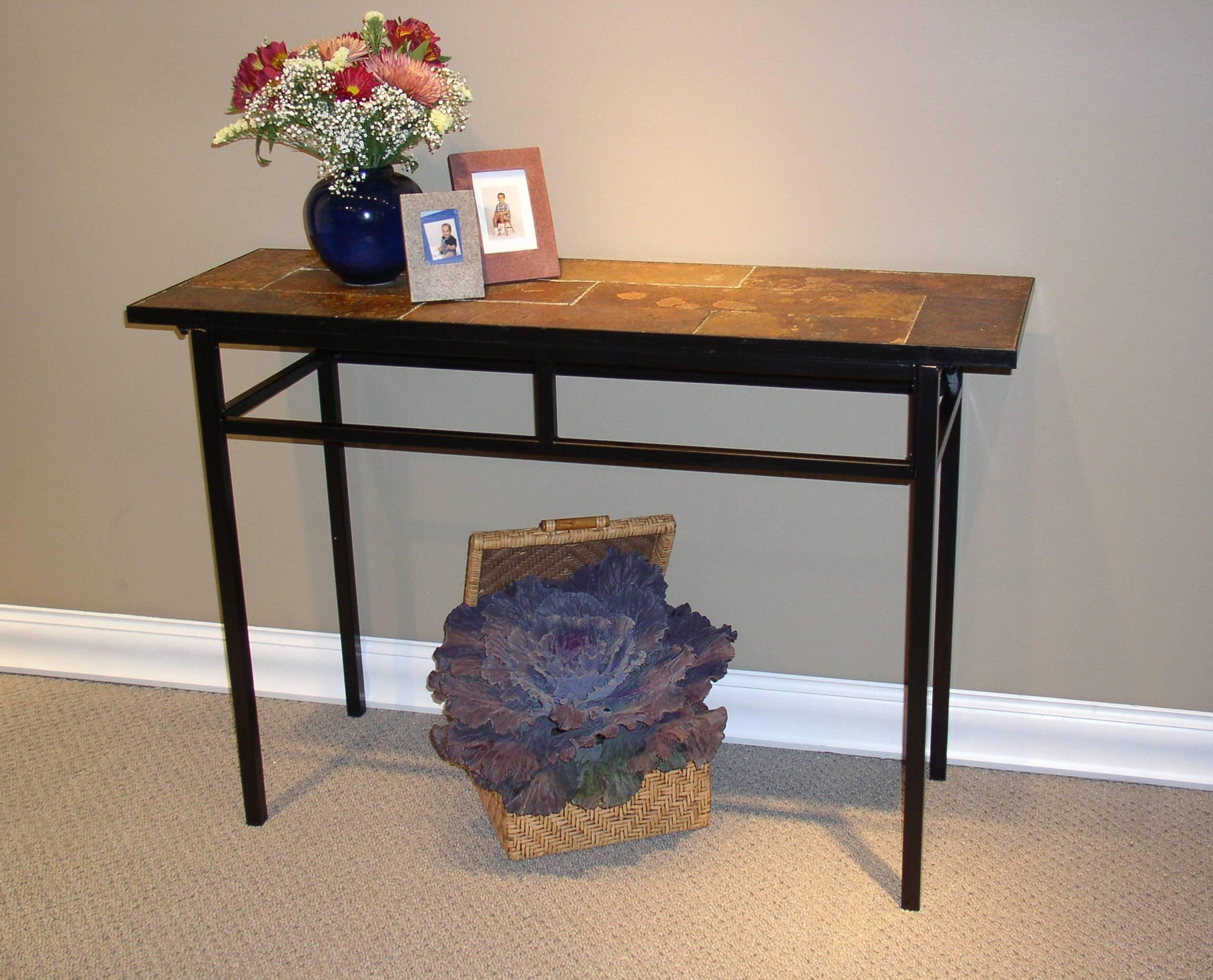 how to make a sofa table top extra large chaise lounge 20 slate tables ideas