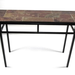 Black Mission Style Sofa Table Mattress Pad For Bed Queen 20 Top Slate Tables Ideas